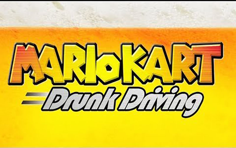 Warpzone's Mario Kart Drunk Driving