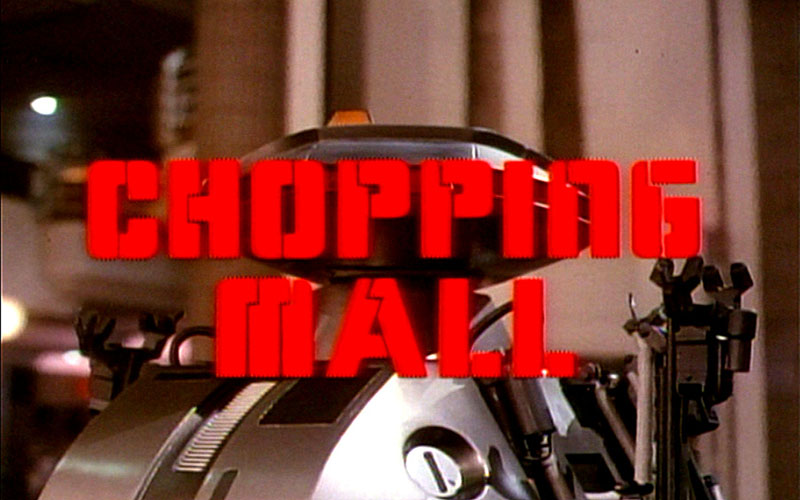 Killer Robot from Chopping Mall