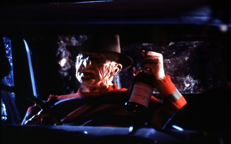 Freddy gets loaded