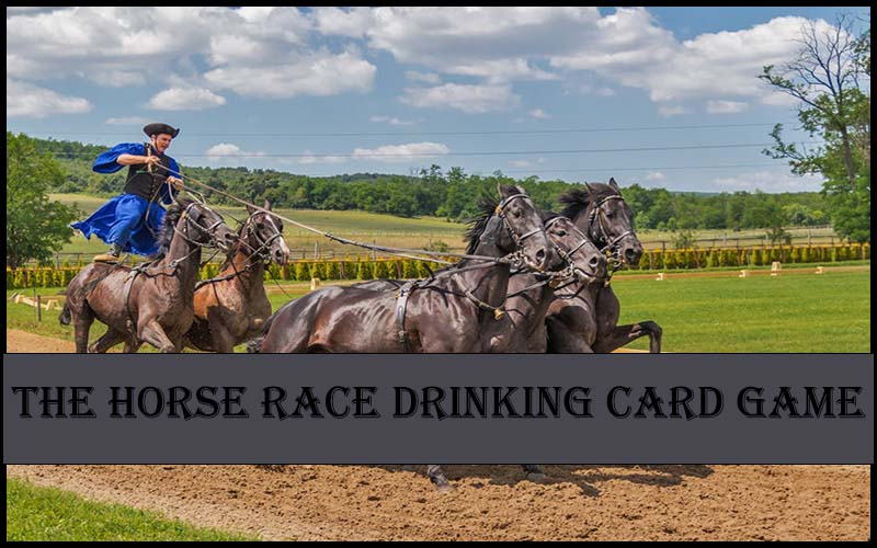 Horse Race Card Game