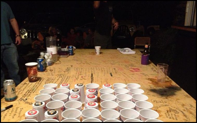 Connect Pour Drinking Game
