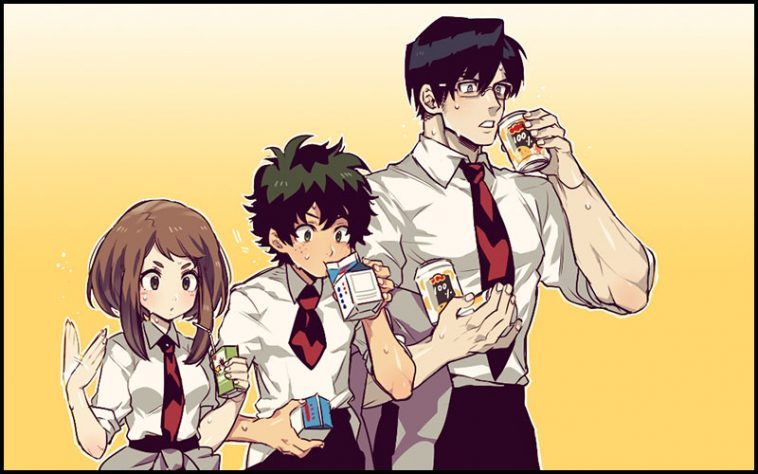 My Hero Academia Drinking Game - theChuggernauts.com