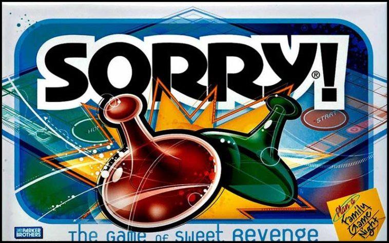 Sorry! Drinking game - The Chuggernauts