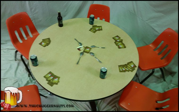 Spoons Drinking Game - thechuggernauts.com