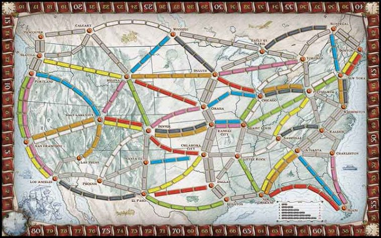Ticket To Ride Drinking Game - thechuggernauts.com