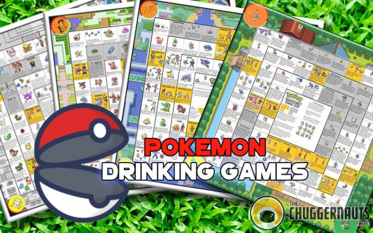 Pokemon Drinking Games at www.thechuggernauts.com