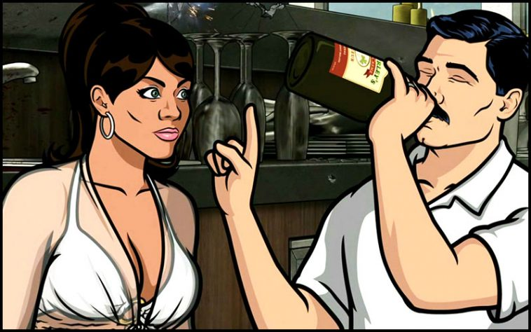 Archer Drinking Game - thechuggernauts.com