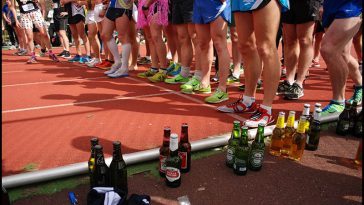 Beer Mile - theChuggernauts.com