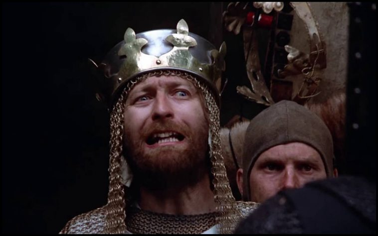 Monty Python and The Holy Grail Drinking Game - theChuggernauts.com