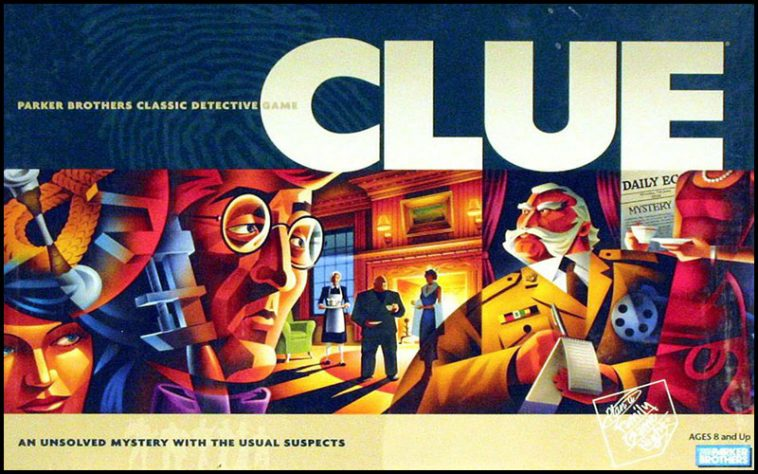 Clue Drinking Game - theChuggernauts.com