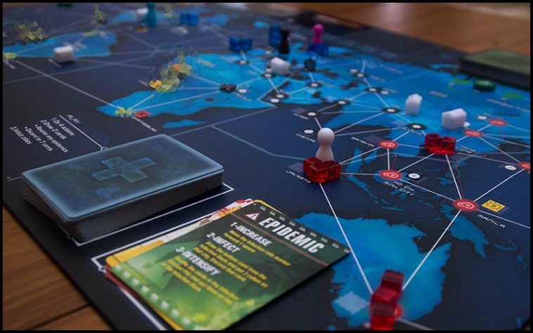 Pandemic Drinking Game - theChuggernauts.com