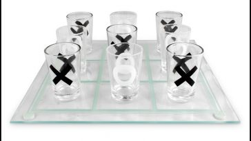 Tic Tac Toe Drinking Game - theChuggernauts.com