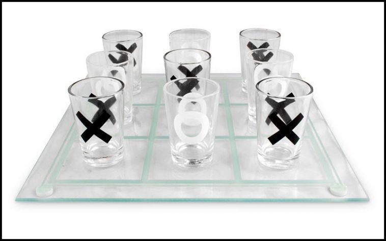Tic Tac Toe Drinking Game - theChuggernauts.com