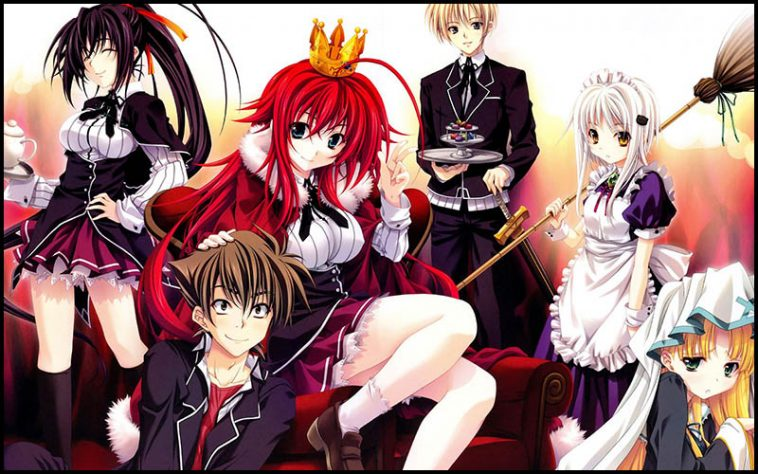 High School DxD Drinking Game - TheChuggernauts.com