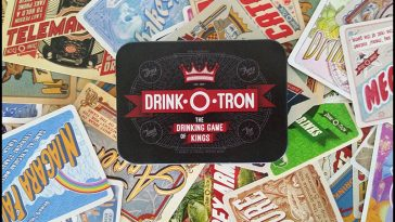 Drink-O-Tron Drinking Game - theChuggernauts.com