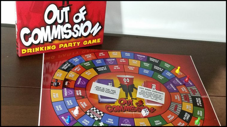 Out Of Commission Drinking Game - theChuggernauts.com