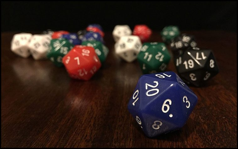 D20 Drinking Game - theChuggernauts.com