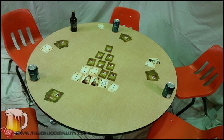 Pyramid Drinking Game - theChuggernauts.com