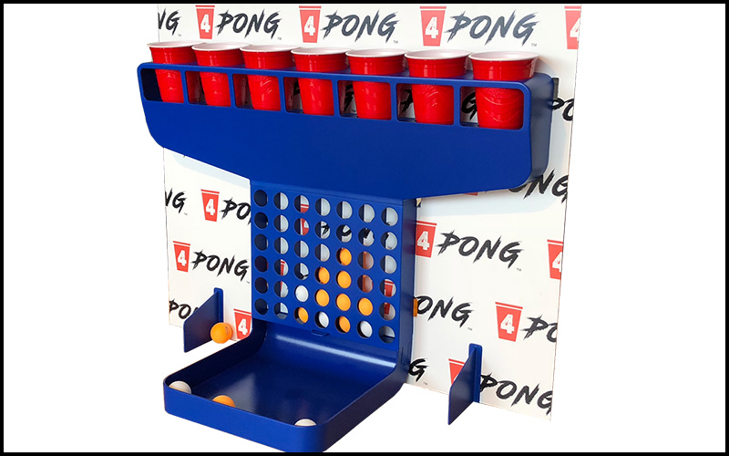 4Pong Drinking Game - the Chuggernauts . com
