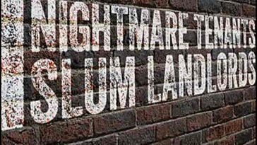 Nightmare Tenants, Slum Landlords Drinking Game - theChuggernauts.com