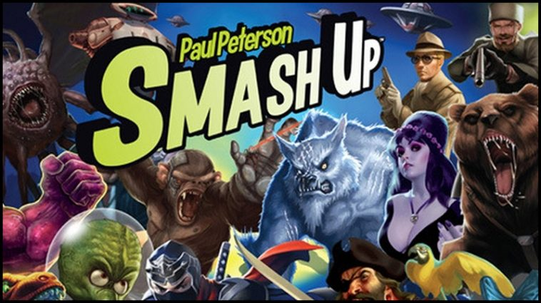 Smash Up Drinking Game - theChuggernauts.com
