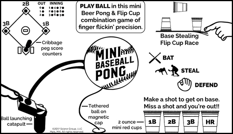 How to Play Baseball Pong - the chuggernauts
