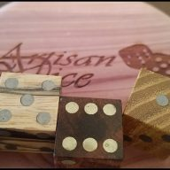 Hand Crafted Gaming Dice provided by www.artisandice.com