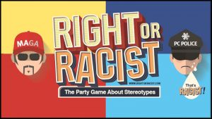 Right or Racist Card Game Review - the chuggernauts