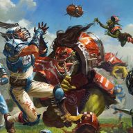The Blood Bowl Drinking Game - the chuggernauts