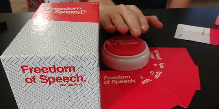 Freedom of Speech Game Review by The Chuggernauts