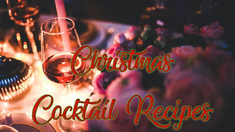 Christmas Cocktail Recipes by www.thechuggernauts.com
