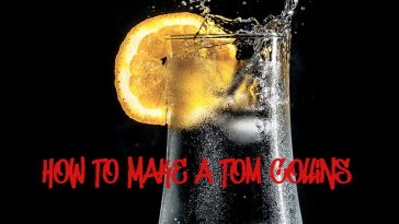 How To Make a Tom Collins by www.thechuggernauts.com