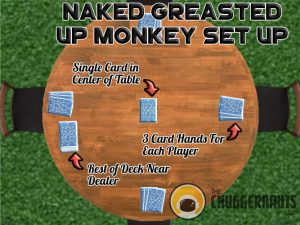 How To Play The Naked Greased Up Monkey Drinking Game