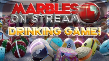 Marbles On Stream Drinking Game by thechuggernauts.com