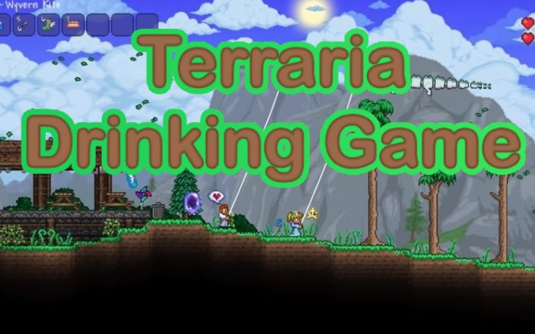 Terraria Drinking Game by www.thechuggernauts.com