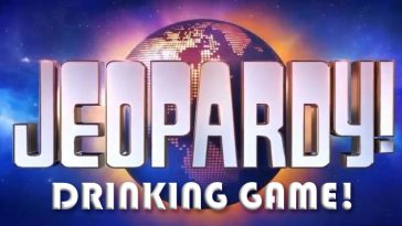 Jeopardy Drinking Game by www.thechuggernauts.com