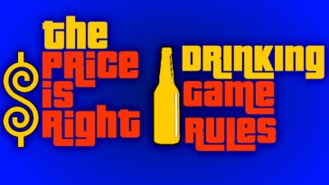 The price Is Right drinking game rules by www.thechuggernauts.com